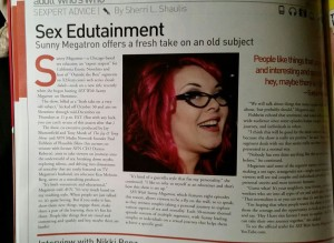 Avn magazine sunny megatron