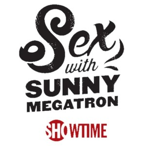 Sunny Megatron Logo black white showtime