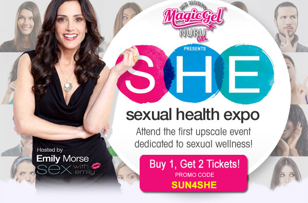 Sunny Megatron Sexual Health Expo