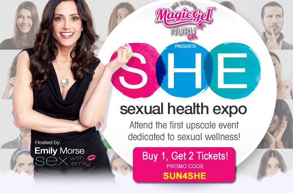 Sunny Megatron Sexual Health Expo