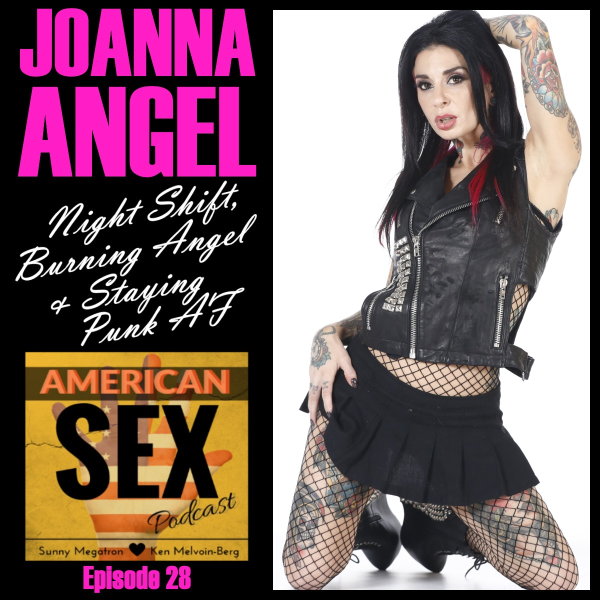 Joanna Angel Night Shift Burning Angel Podcast