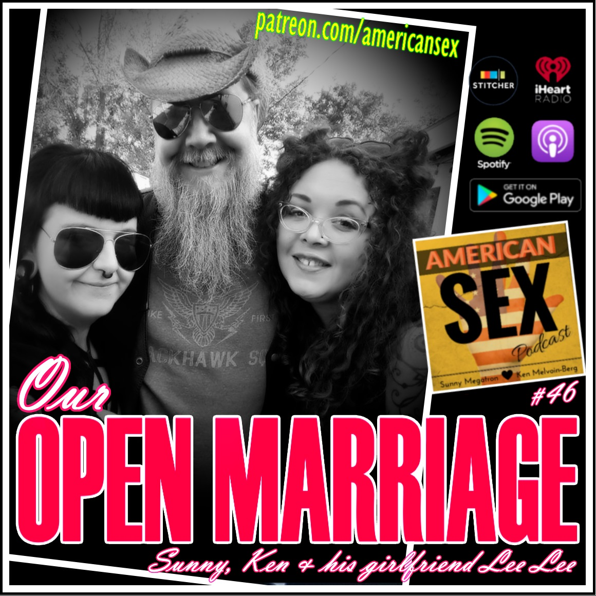 Open Marriage wife and girlfriend podcast