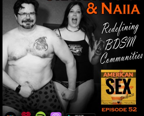 Graydancer & Naiia Podcast Orig photo by Mistress Mayhem