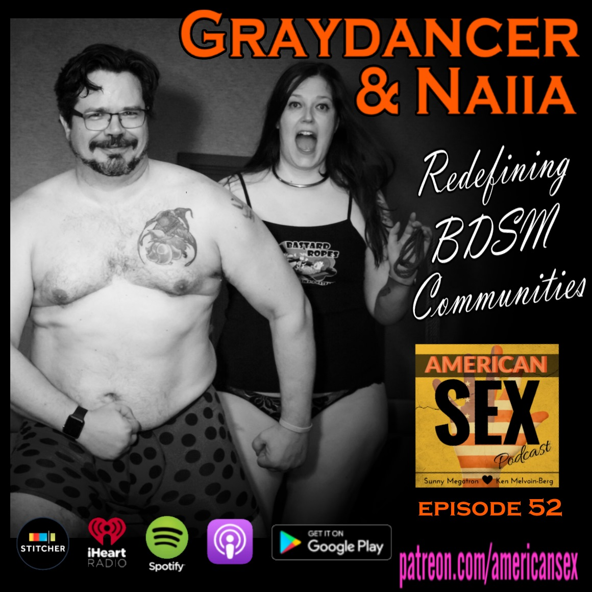 Graydancer & Naiia Podcast Orig photo by Mistress Mayhem