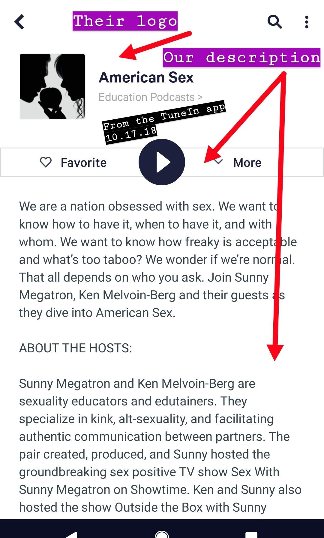 American Sex Pod John David Whalen same name