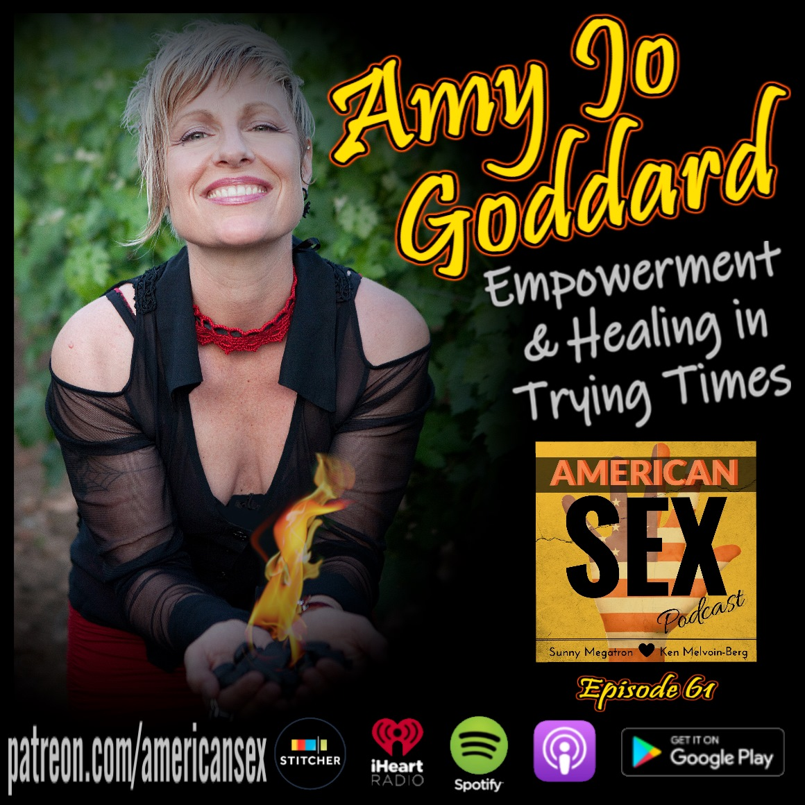 Amy Jo Goddard Fire Woman