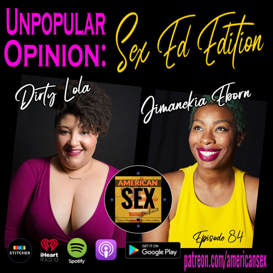 Dirty Lola Jimanekia Eborn Podcast Sex Ed