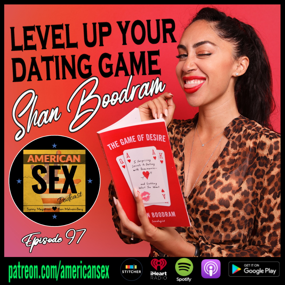 Shannon Boodram The Game of Desire Book