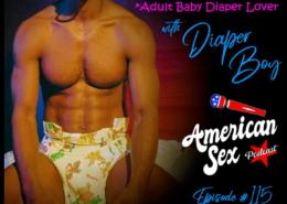 ABDL Fetish Adult Baby Diaper Lover