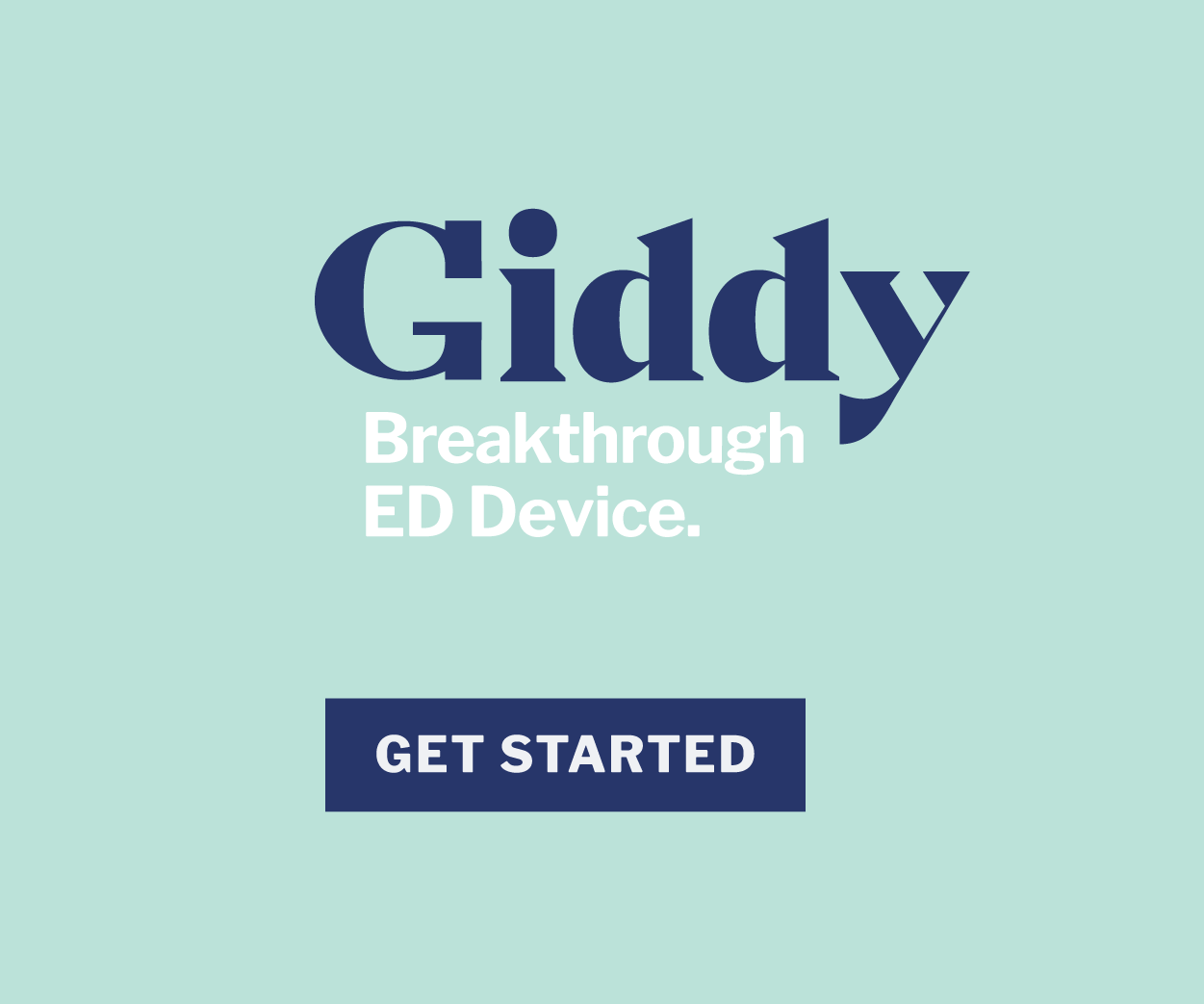 GIDDY ED Device discount code SUNNY