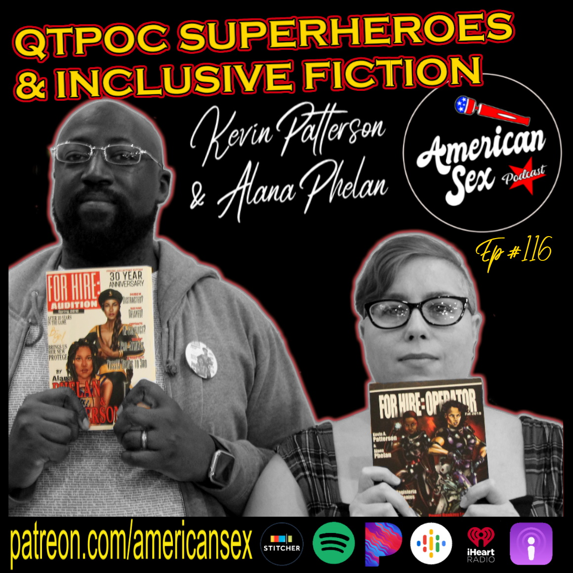 QTPOC Superheroes For Hire Series