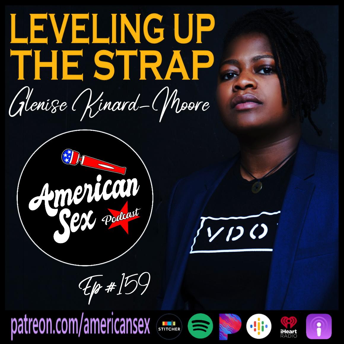 Glenis Kinard Moore VDOM Leveling Up The Strap American Sex Podcast episode art