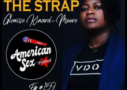 Glenise Kinard Moore VDOM Leveling Up The Strap American Sex Podcast episode 159 cover art